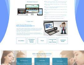 #42 for Redesign my landing page by mdziakhan