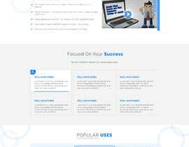 #37 for Redesign my landing page by agnitiosoftware