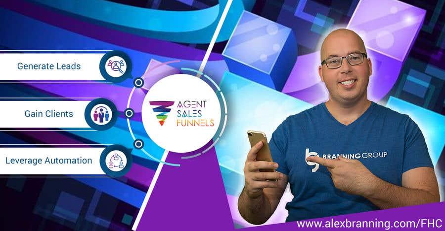 """Konkurrenceindlæg #40 for Facebook Cover Photo for """"Agent Sales Funnels"""""""