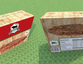 #9 for Design a meat pattie box by sonnybautista143