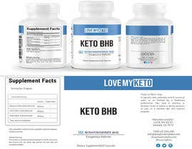 DesignerRobi762 tarafından High-End Label Deisgn For Keto Supplement Company için no 6