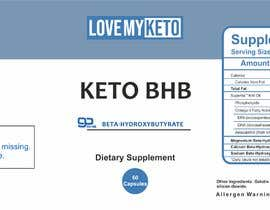 websolusation tarafından High-End Label Deisgn For Keto Supplement Company için no 14