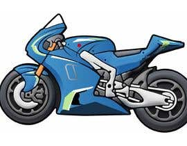 #9 for Illustration Motorbike by directorhell