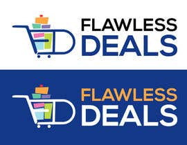 #66 untuk Re-design Illustrator file attached. Flawless Deals Logo Improvement oleh graphicsword