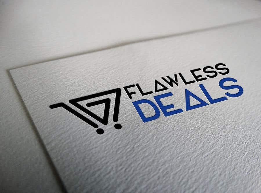 Penyertaan Peraduan #69 untuk Re-design Illustrator file attached. Flawless Deals Logo Improvement
