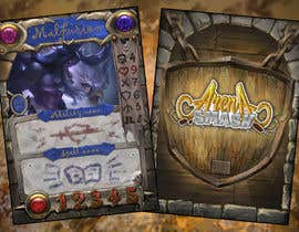 #61 for GUARANTEED :  Design and illustrate a template for my card game by Shaning