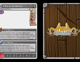 #49 for GUARANTEED :  Design and illustrate a template for my card game by RodNasca