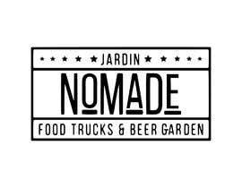 """#44 cho A partir del logo adjunto debe crear uno que incluye todo menos """"nro.170"""", """"mallinkrodt"""" cambia por """"nomade"""", """"craft beer"""" cambia por """"beer garden"""" es decir, incluir: jardin, Nomade, food trucks & beer garden bởi mariaperezart"""