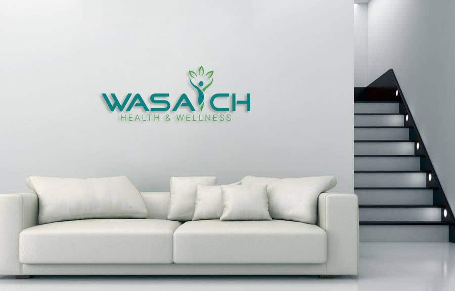 Penyertaan Peraduan #64 untuk Wasatch Health & Wellness medical clinic Logo