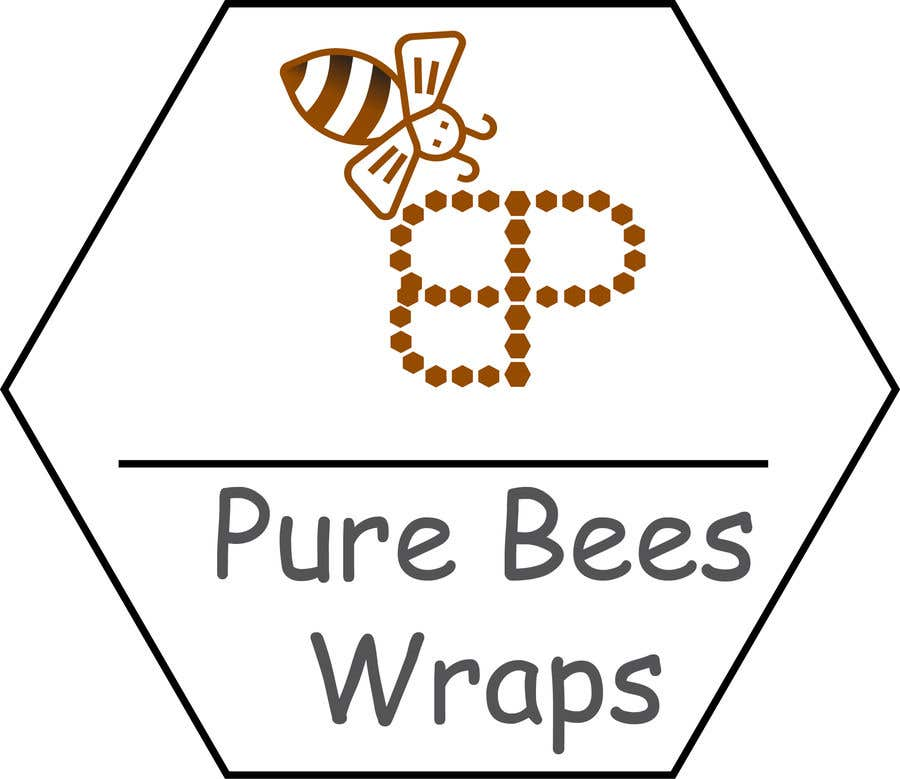 """Contest Entry #88 for Design """"Pure Bees Wraps"""" Logo and Box Design"""