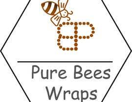 """#88 untuk Design """"Pure Bees Wraps"""" Logo and Box Design oleh Fardous772"""