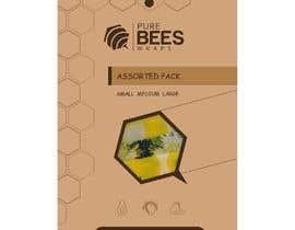 """#90 untuk Design """"Pure Bees Wraps"""" Logo and Box Design oleh ayman8336313"""