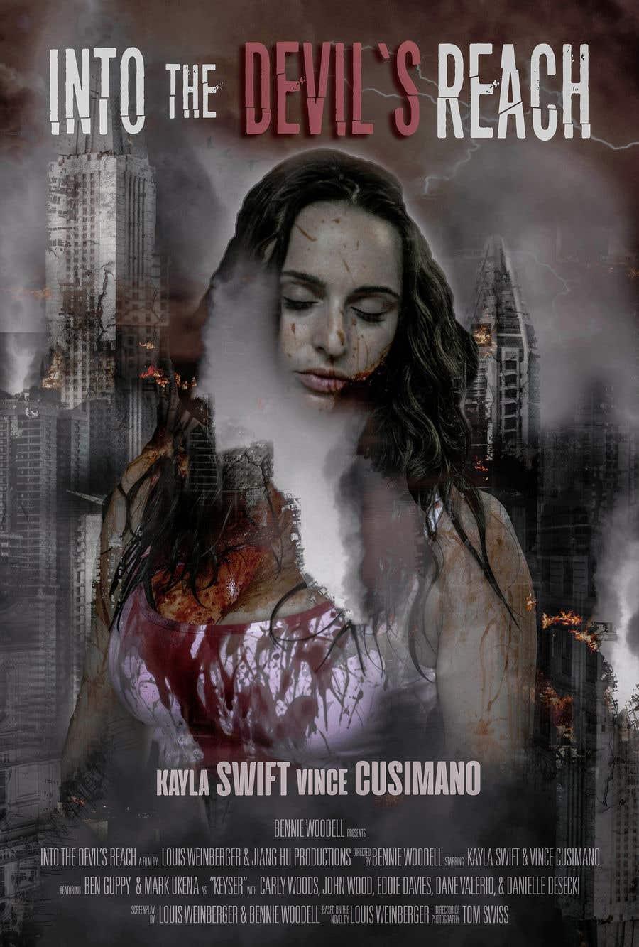 "Kilpailutyö #37 kilpailussa Create a Movie Poster for ""Into the Devil's Reach"""