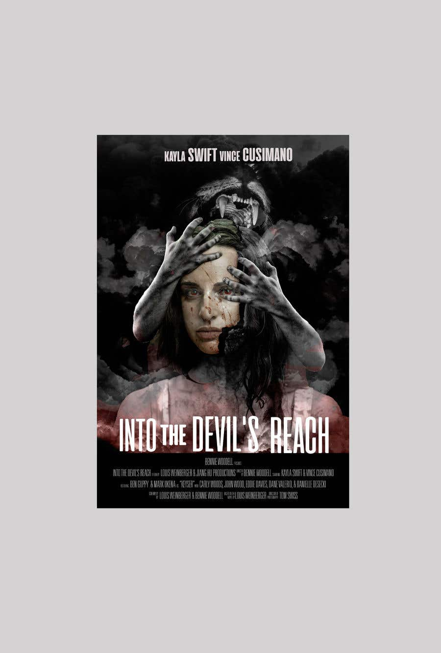 """Konkurrenceindlæg #40 for Create a Movie Poster for """"Into the Devil's Reach"""""""