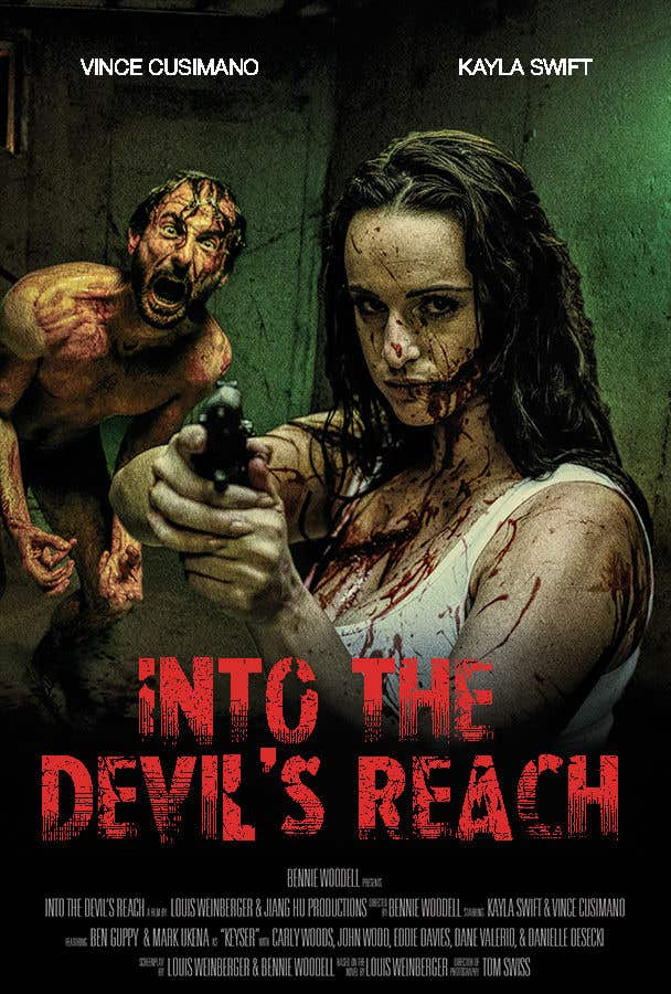 """Konkurrenceindlæg #32 for Create a Movie Poster for """"Into the Devil's Reach"""""""