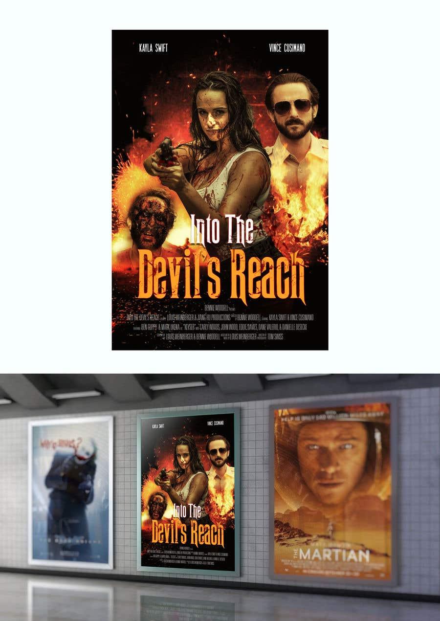 "Kilpailutyö #16 kilpailussa Create a Movie Poster for ""Into the Devil's Reach"""
