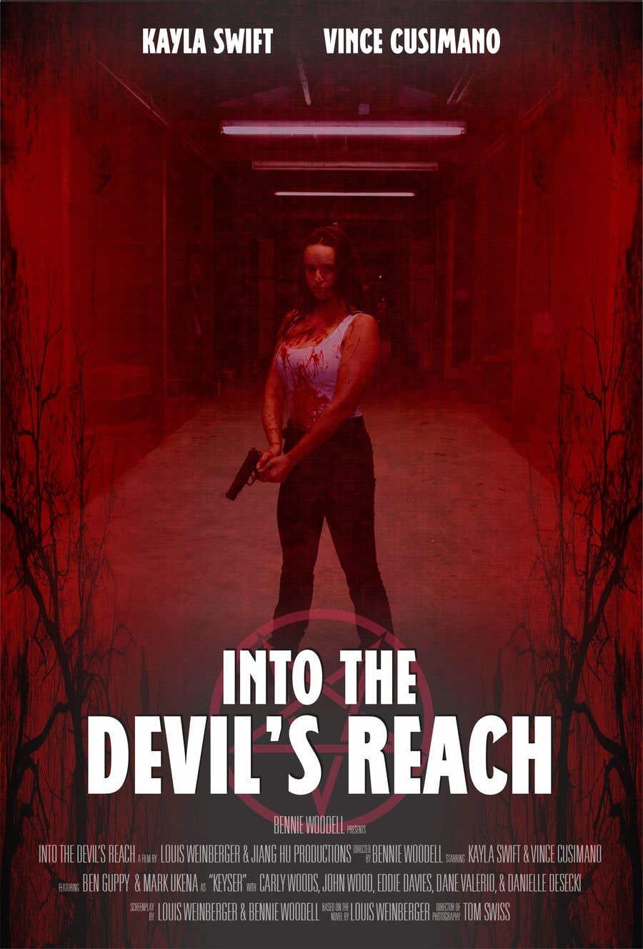"Kilpailutyö #41 kilpailussa Create a Movie Poster for ""Into the Devil's Reach"""