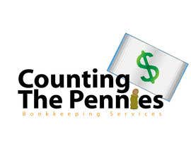 #118 für Logo Design for Counting The Pennies Bookkeeping Services von ikandigraphics