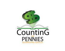 #119 dla Logo Design for Counting The Pennies Bookkeeping Services przez ikandigraphics