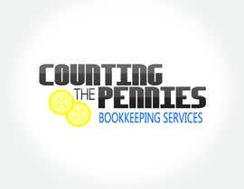 #144 untuk Logo Design for Counting The Pennies Bookkeeping Services oleh RobNob