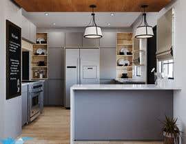 #8 cho Interior Design of our New Kitchen bởi Nica3D