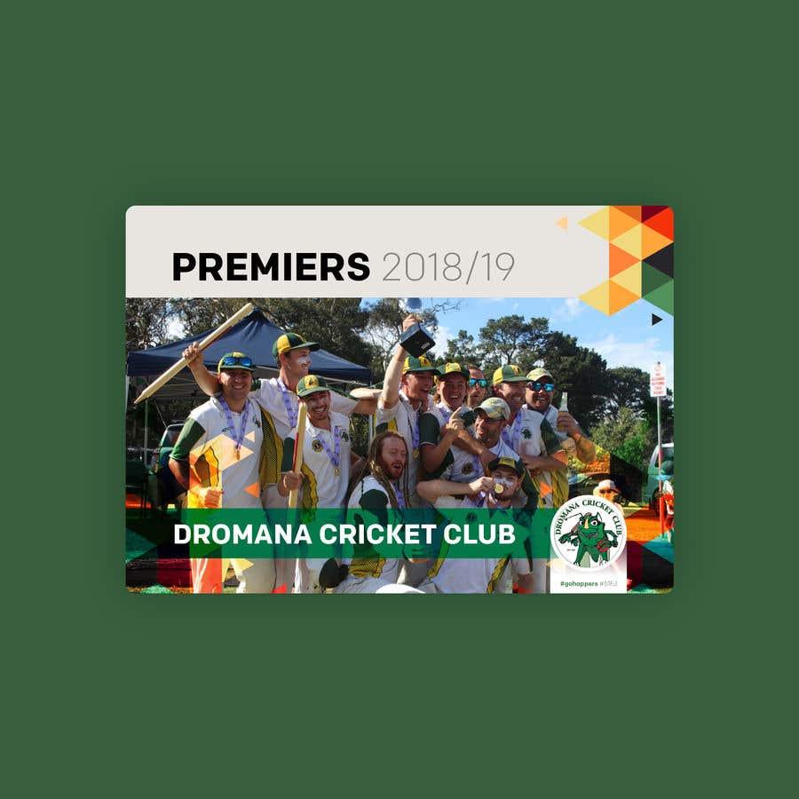 Konkurrenceindlæg #13 for Graphic Art - Cricket Club Flyer