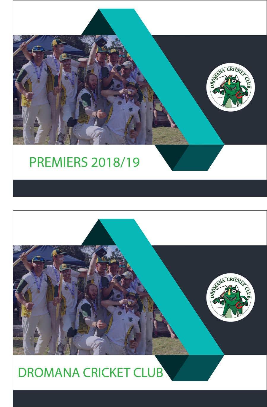 Konkurrenceindlæg #7 for Graphic Art - Cricket Club Flyer