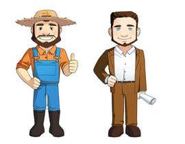 #55 for Create company personas/mascots af DrakkoH