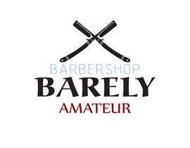#36 untuk I need a logo for a possible Barber buisness. The name is Barely Amateur. Use a barber design oleh shahabdulhay