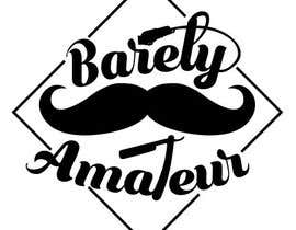 #37 untuk I need a logo for a possible Barber buisness. The name is Barely Amateur. Use a barber design oleh Tadjeddine95