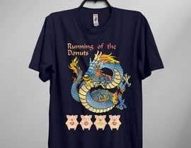 maimunhasan2 tarafından Design a t-shirt for the 2019 Running of the Donuts için no 25