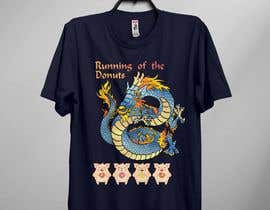 #25 para Design a t-shirt for the 2019 Running of the Donuts por maimunhasan2