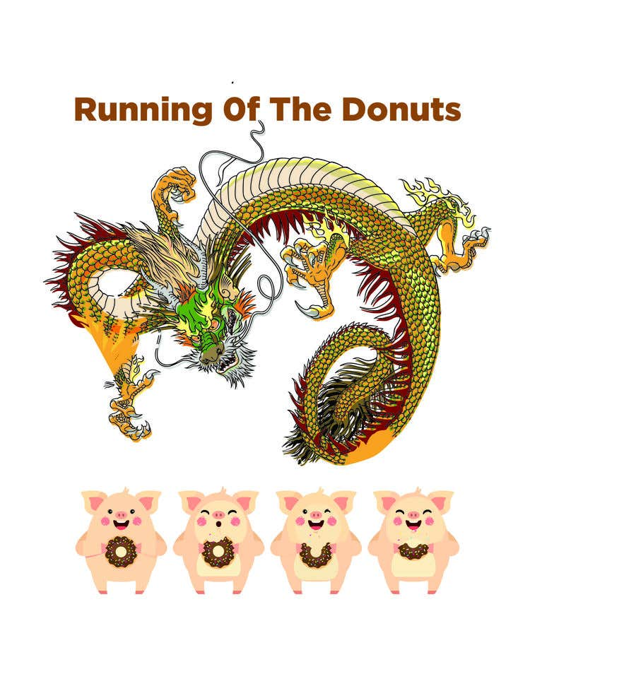 Konkurrenceindlæg #29 for Design a t-shirt for the 2019 Running of the Donuts