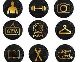 gablainoasantana tarafından all logos in gold on black marble background için no 29