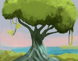 nº 5 pour Illustrate Tree for Card Back in a Game par Fedvel