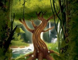 nº 19 pour Illustrate Tree for Card Back in a Game par irenkgov