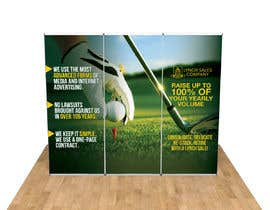 nº 40 pour New Design Idea for a trade show backdrop - Golf Themed par teAmGrafic