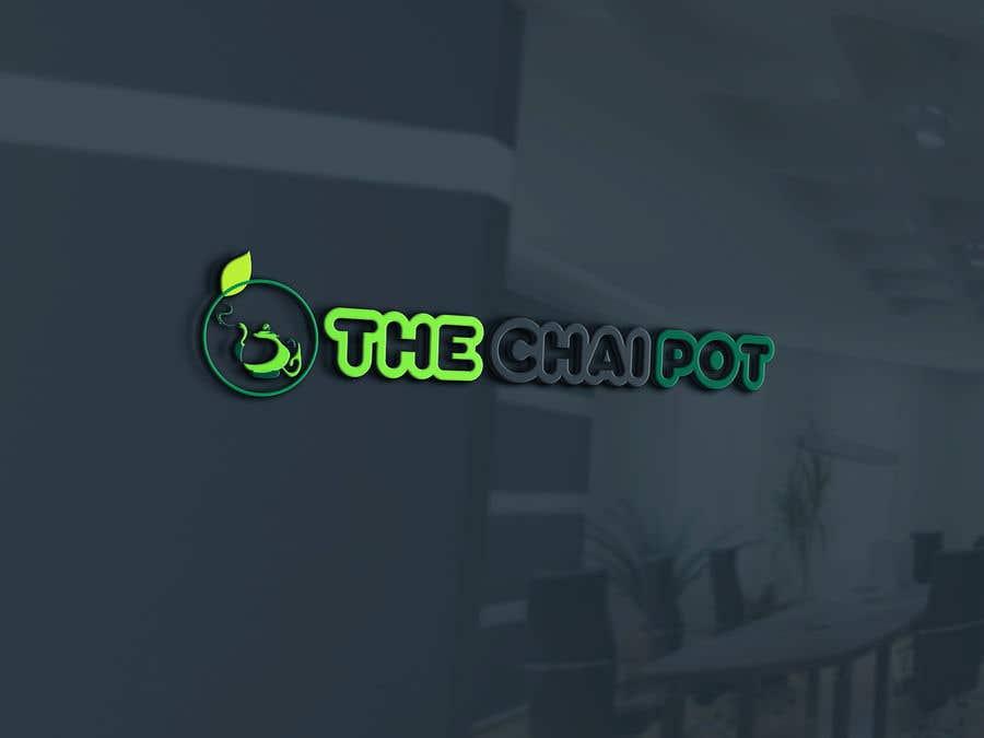 Kilpailutyö #130 kilpailussa Chai Pot Logo