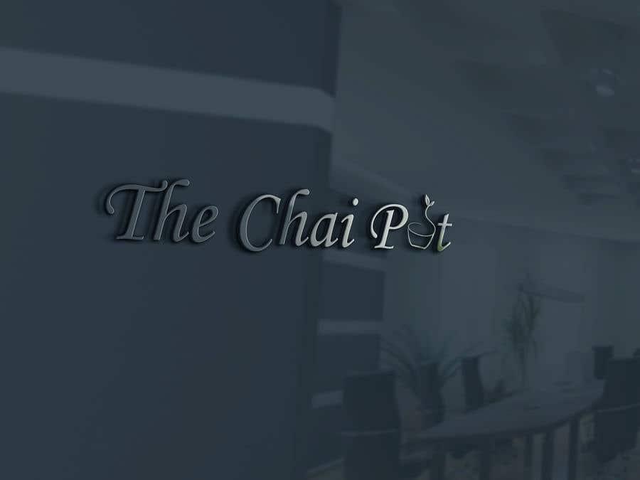 Kilpailutyö #132 kilpailussa Chai Pot Logo