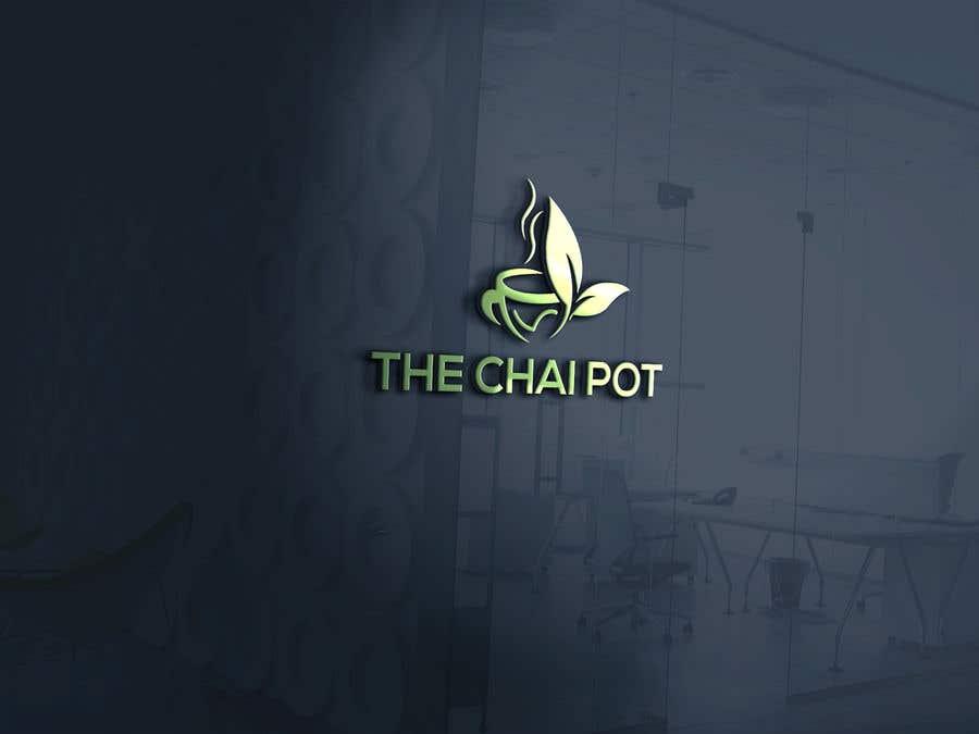 Kilpailutyö #50 kilpailussa Chai Pot Logo