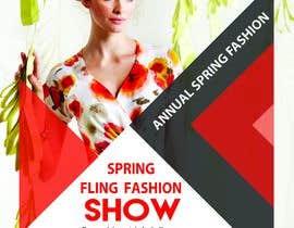 #90 untuk Fashion Show Flyer oleh KreativeLancer