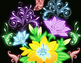#51 for Create a Neon Flower Design With Lots of Flowers (full image coverage) af mohhomdy