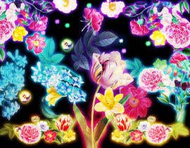 #58 for Create a Neon Flower Design With Lots of Flowers (full image coverage) af mohhomdy