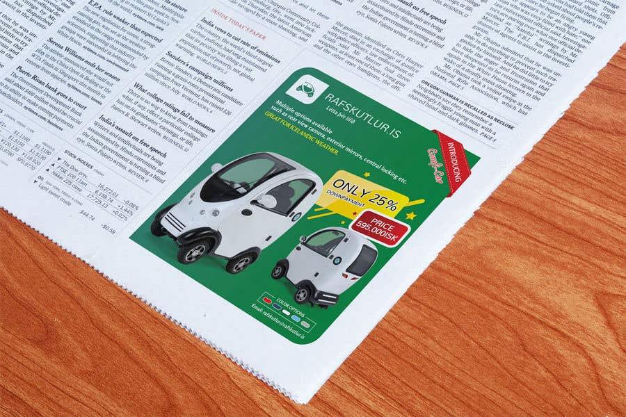 "Intrarea #13 pentru concursul ""Graphic designing: Newspaper ad"""