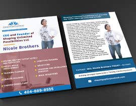 nº 25 pour Need 4 x6 (Standard Flyer) Created in HD  (Front & Back) par Shakib1801