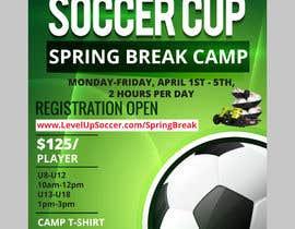 bishalchandra tarafından URGENT Flyer Design for Spring Break Soccer Camp için no 25