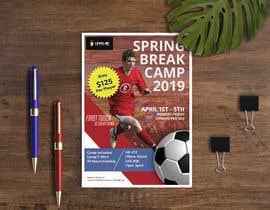 #26 untuk URGENT Flyer Design for Spring Break Soccer Camp oleh Rifatpial0