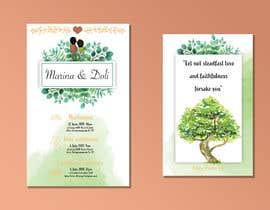 #3 para Design our Wedding Invitation por nucisdesigns