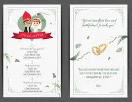 #18 para Design our Wedding Invitation por LaGogga