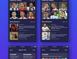 #3 cho App Design for Sports Scouting App bởi wayannst